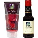 Astaberry Wine Face wash 100ml + Wine Shampoo 200ml
