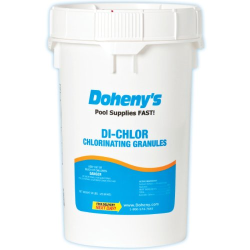 Doheny's Di-Chlor Granular Chlorine 50 lbs.
