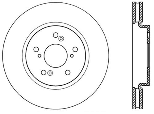 StopTech 120.40073CRY Brake Rotor