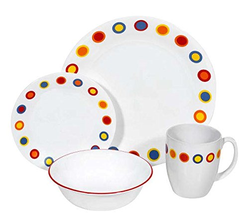 corelle colored plates - 2