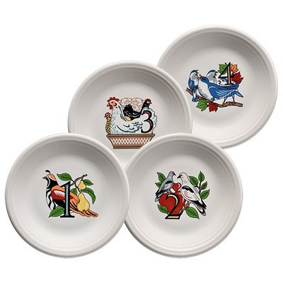 12 Days of Christmas Salad Plates