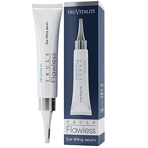 TruVitaliti-Truly Flawless Eye Lifting Serum- Amplifies Anti-Aging Results- Diminishes the Appearance of Fine Line-Moisturize and Soften Skin-Inhibit the Formation of New Wrinkles (A New Lifting Day Cream)