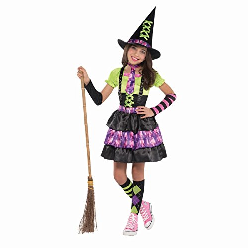 Cute Girl Witch Costumes (Toddler Girls Children's Spellbound Witch Costume (Large 12-14))
