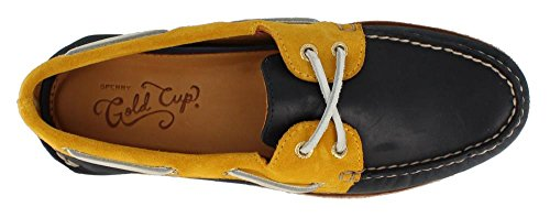 Original Boat Men's Sperry Shoe Top Gold Gold Sider Navy Authentic qwSxxPB4n