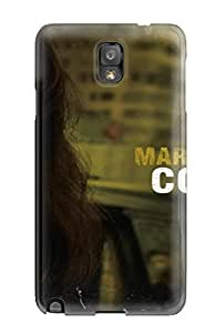 Hard Plastic Galaxy Note 3 Case Back Cover,hot Marion Cotillard Jessica Alba Case At Perfect Diy by lolosakes
