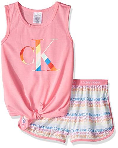 Girls Pajamas Size 14 - Calvin Klein Girls' Little 2 Piece