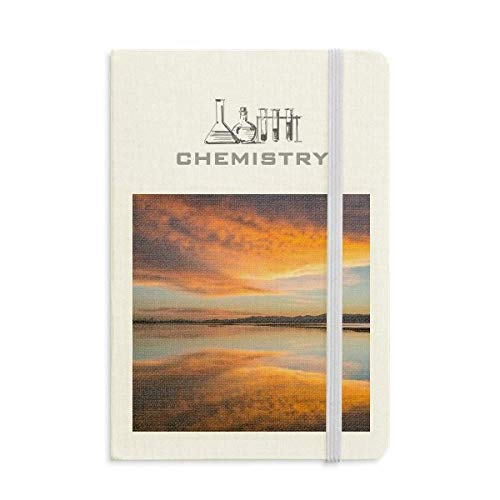 Sunrise Ocean Sky Cloud Reflection Chemistry Notebook Classic Journal Diary A5