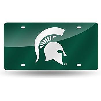 Amazon Com 6x12 Michigan State Spartans Diamond Cut
