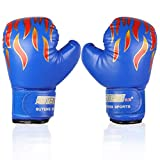 Kids Boxing Gloves PU Sparring Punching Training Gloves for Age 3-12 Years