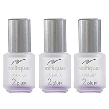 Nailtiques Nail Protein Formula 2 Plus, 0.25 oz Pack of 3