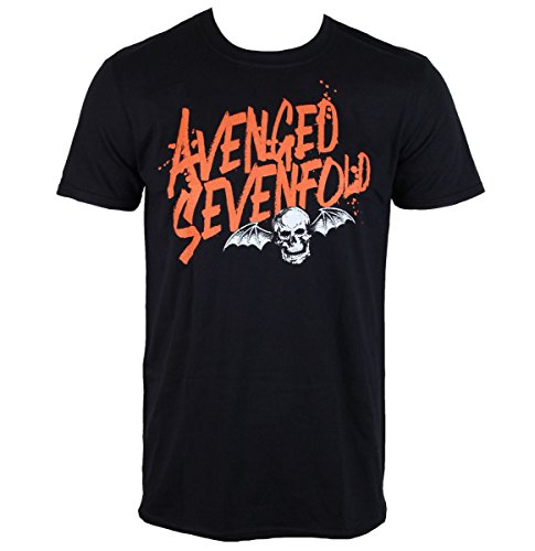 Herren T-Shirt Avenged Sevenfold - LOGO - ROCK OFF - ASTS25MB