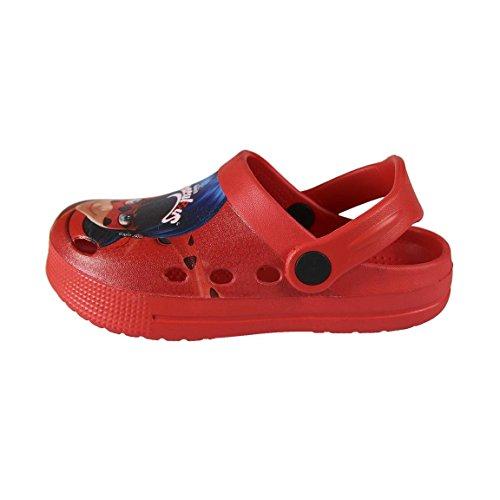 Ladybug, Zoccoli bambine rosso rosso