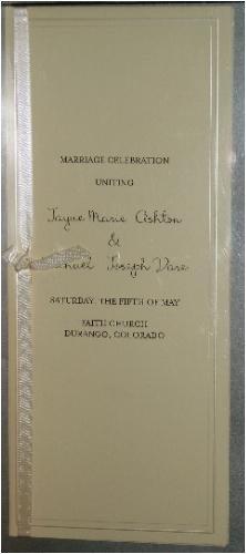 amazon com print your own wedding invitations programs place
