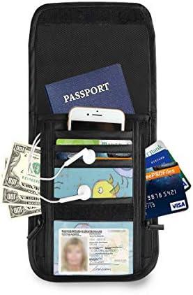 鳥柄 カラー パスポートホルダー セキュリティケース パスポートケース スキミング防止 首下げ トラベルポーチ ネックホルダー 貴重品入れ カードバッグ スマホ 多機能収納ポケット 防水 軽量 海外旅行 出張 ビジネス