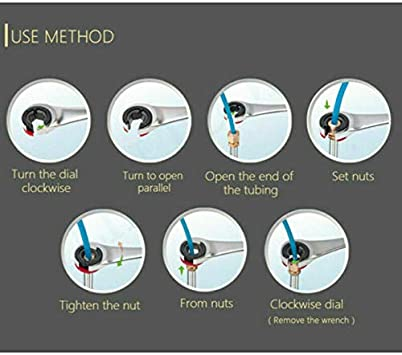 180 /° beweglicher flexibler RatschenkopfFix-Schlauch Zweiwege-Ratschenschl/üssel f/ür die Handpflege-Reparaturwerkzeug 8MM-19MM 10mm