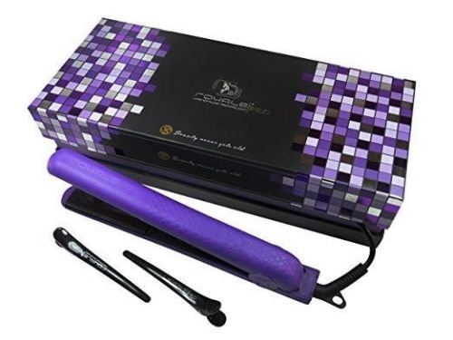 Royale Classic Diamond Deep Purple Soft Touch Flat Iron