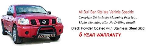 Hunter Premium Truck Accessories Black Grille Guard Fits 06-11 Hummer H3