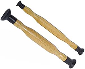 """Supercrazy Double Ended Grip Valve Grinding Lapping Stick Tool Set 5/8"""" 13/16"""" 1-1/8"""" 1-3/8"""" SF0226"""