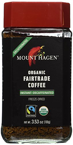Mount Hagen Organic Coffee - Cafe -- 3.53 oz