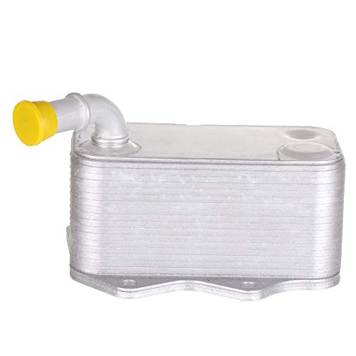 (ECCPP Engine Oil Cooler Fit for 2006-2008 Audi A3, 2005-2009 Audi A4, 2005-2009 Audi A4 Quattro, 2008-2009 Audi TT, 2007-2009 Volkswagen Eos 06D117021C Oil Cooler )
