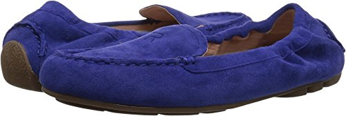 Kristine Cobalt Women's Suede Style Taryn Silky Rose Driving Loafer Fw6vx1zn