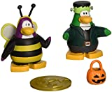 Disney's Club Penguin: 2'' Mix 'N Match Figure Pack - Bumble Bee and Frankenpenguin