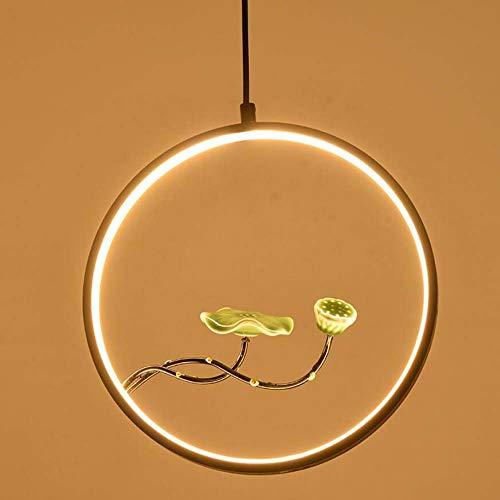 Blossom Pendant Lighting - LED Chandelier Chinese Plum Blossom Pendant Lamp Round Deco Hanging Line Lamp