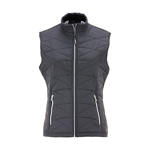 Refrigiwear Women's Lightweight Insulated Quilted Vest (Black, 3XL)