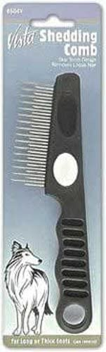 Millers Forge DMI604V Vista Dog Shedding Comb with Stainless Steel Teeth