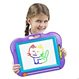 LOFEE Birthday Present for 2-6 Year Old Girl,Magnetic Doodle Board Gift for Girl Age 3 4 5 Year Old...