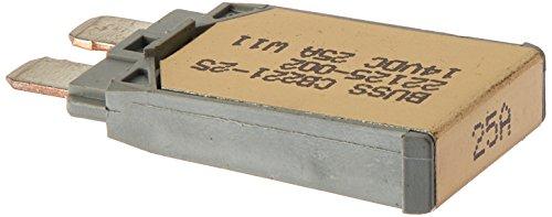 Bussmann CB221-25 Type I ATC Footprint Automotive Circuit Breaker (25 Amp), 1 Pack -