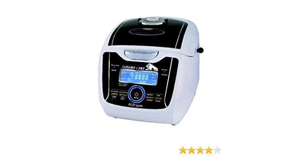Robot de cocina con voz. Luxury Chef. ECO-3500. Eco-De: Amazon.es ...