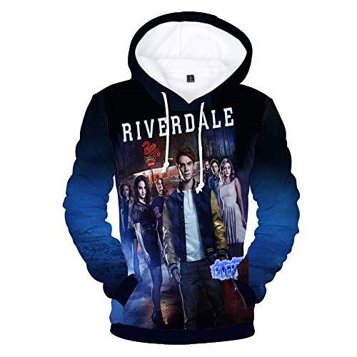Sunblack Riverdale 3D Unisex Cool Style Hoodies Fashion Logo Clothes Women/Men Hoodies and Sweatshirts Plus Size 4XL (XL, color1)