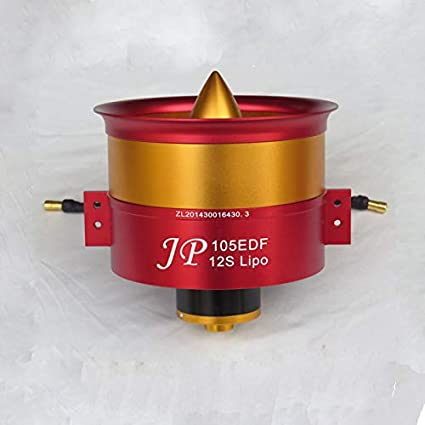 Jet motor: Hot Sale Metal JP 105mm Ducted Fan EDF with 150A