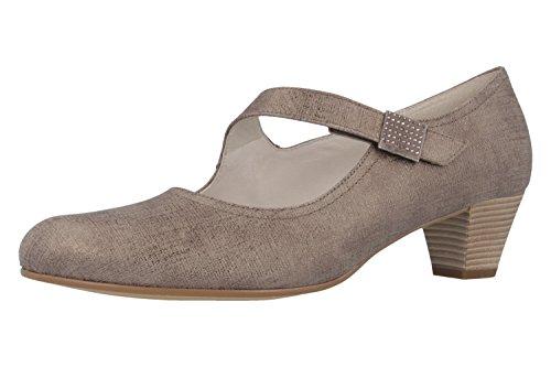 Gabor-Barrette à Femme Pumps-Gris Chaussures en übergrößen