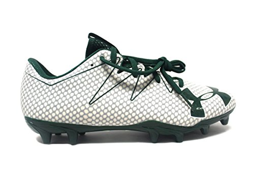 Under Armour Team Nitro Low MC Men's Football Cleats White/Green/White buy cheap comfortable genuine sale online sale best ESAXwrDstX