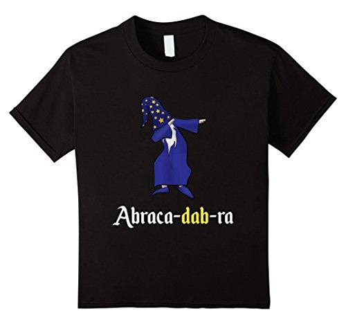 Kids Hilarious Dabbing Wizard Abracadabra Tshirt 12