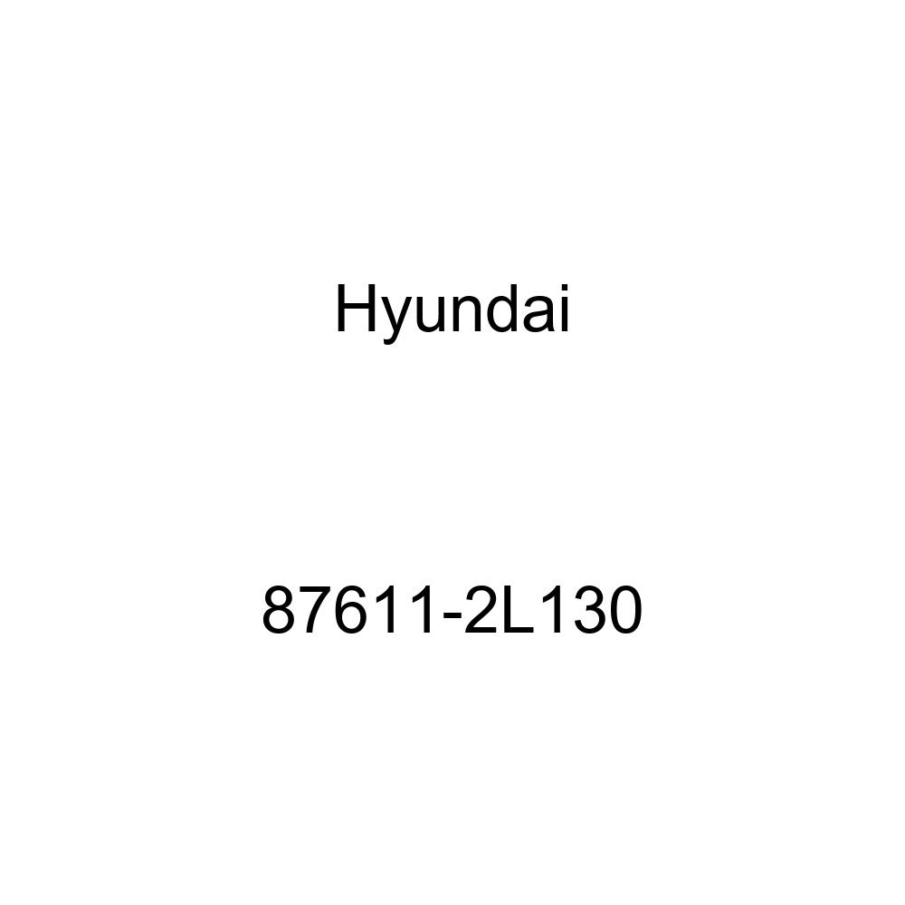 Exterior Rear Genuine Hyundai 87611-2L130 Mirror and Holder Assembly
