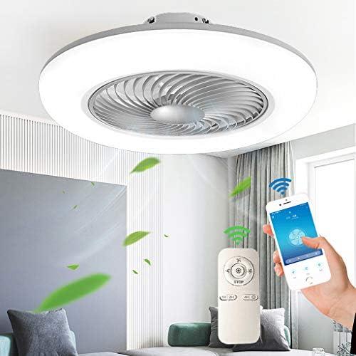 Fan/Deckenlampe,Deckenventilator/mit/LED,/Einstellbare/Windgeschwindigkeit/Leise,f/ür/Kinderzimmer/Wohnzimmer/Schlafzimmer