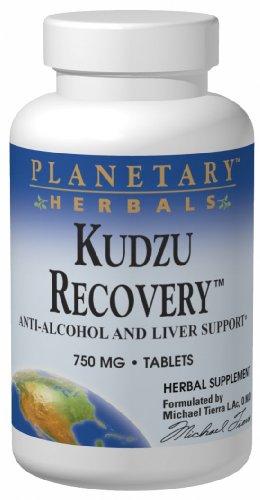Планетарные Herbals Kudzu эвакуаторы, 750 мг, таблетки, 120 таблеток