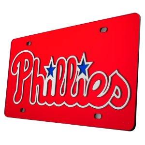 Rico Philadelphia Phillies MLB Laser Cut License Plate Cover