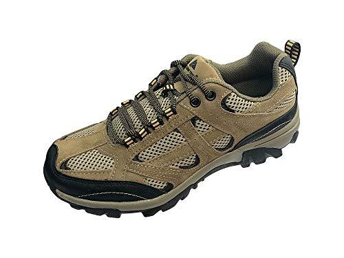 Ozark Trail Men's Vented Mesh Low Hiking Shoe, Taupe (8 M)