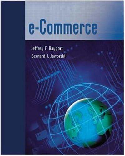 E-Commerce: Jeffrey F. Rayport, Bernard J. Jaworski, Jeffrey ...