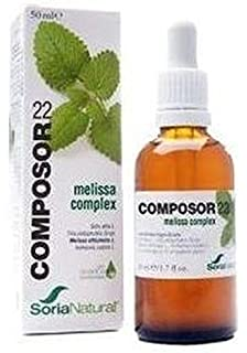 Soria Natural - Composor 22 Melissa Complex Soria Natural, 50 Ml