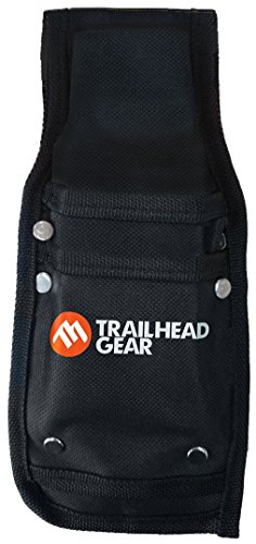 Trailhead Gear Black Durable Tree Felling Bucking Wedge Belt Pouch Holdster | Holds Two Wedges