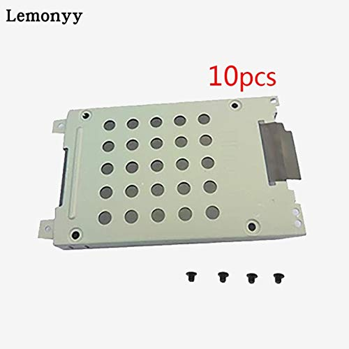 ShineBear New for DELL INSPIRON 1720 1721 HDD Hard Drive Bracket Caddy C7586 CN-0C7586 with Screw - (Cable Length: 0.2m, Color: 10 pcs) by ShineBear