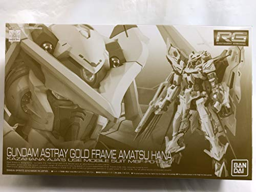 Bandai RG 1/144 Gundam Astray Gold Frame Amatsu Hana Model kit ()