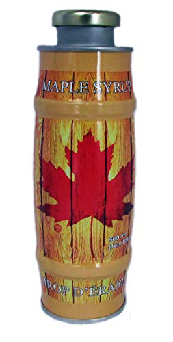 Vermont Made Maple Syrup (Grade A Amber Rich, 500ml Tin)