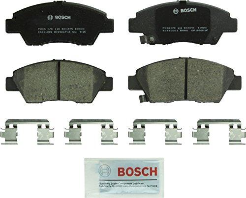 Price comparison product image Bosch BC1394 QuietCast Premium Ceramic Disc Brake Pad Set For Honda: 2011-2016 CR-Z,  2009-2017 Fit; Front