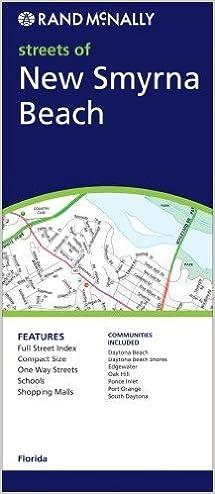 New Smyrna Beach Florida Map.New Smyrna Beach Laminated Map Florida Map Masters 9781576780718